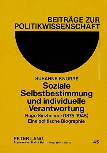 Soziale Selbstbestimmung und individuelle Verantwortung: Susanne Knorre