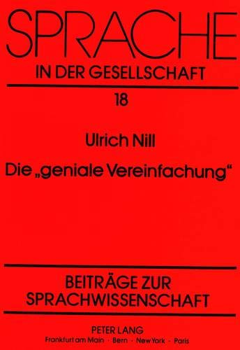 Die 'geniale Vereinfachung': Ulrich Nill