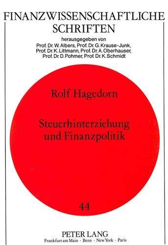 Steuerhinterziehung und Finanzpolitik: Rolf Hagedorn