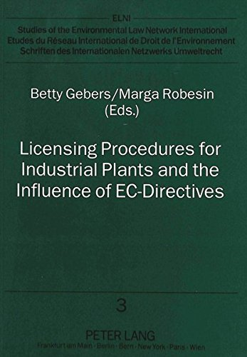 Licensing Procedures for Industrial Plants and the: n/a