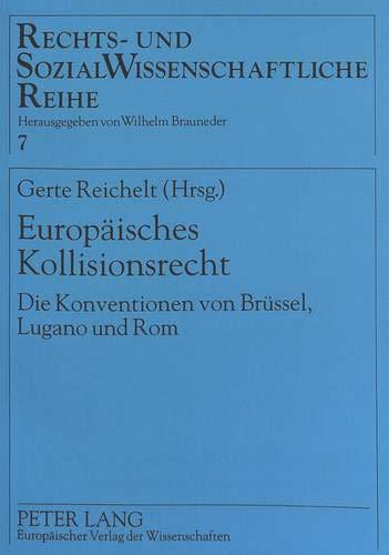 Europäisches Kollisionsrecht: Gerte Reichelt