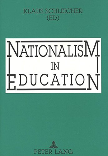 9783631460177: Nationalism in Education
