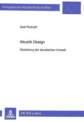 Akustik Design: Axel Rudolph