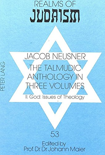 Talmudic Anthology in Three Volumes: Neusner, Jacob (Research Professor of Religion and Theology, ...