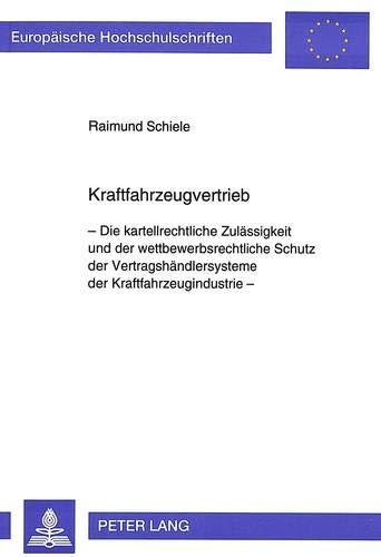 Kraftfahrzeugvertrieb: Raimund Schiele