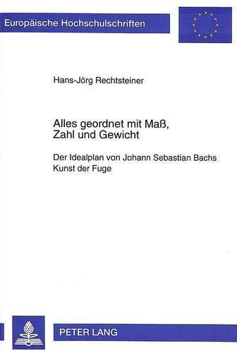 Alles geordnet mit Maß, Zahl und Gewicht: Hans-Jörg Rechtsteiner