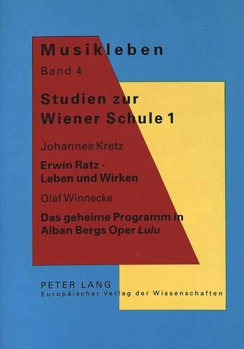 Studien Zur Wiener Schule 1: Johannes Kretz: Johannes Kretz, Olaf