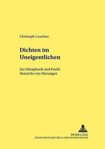Dichten im Uneigentlichen: Christoph Leuchter