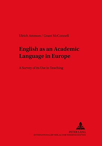 9783631501979: English as an Academic Language in Europe: A Survey of its Use in Teaching (Duisburger Arbeiten zur Sprach- und Kulturwissenschaft)
