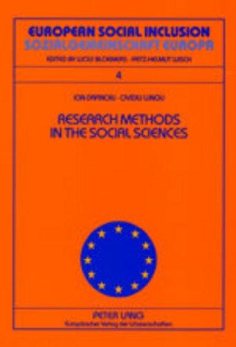 9783631504345: Research Methods in the Social Sciences- Metode de cercetare în ştiinţele sociale (European Social Inclusion / Sozialgemeinschaft Europa)