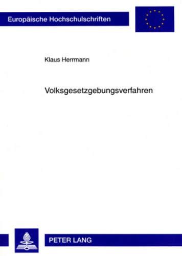 Volksgesetzgebungsverfahren: Klaus Herrmann