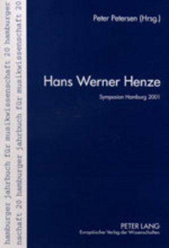 Hans Werner Henze: Peter Petersen