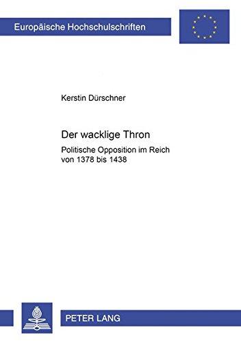 Der wacklige Thron: Kerstin Dürschner