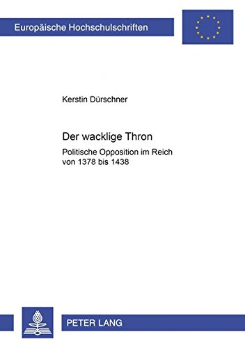 Der wacklige Thron: Kerstin D�rschner