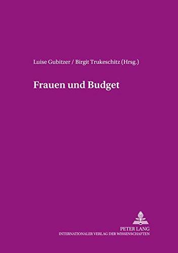 Frauen und Budget: Luise Gubitzer