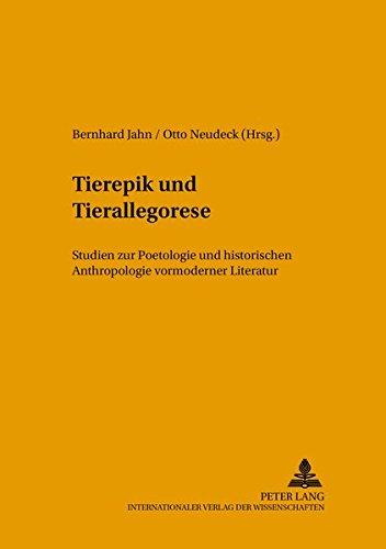 Tierepik und Tierallegorese: Bernhard Jahn