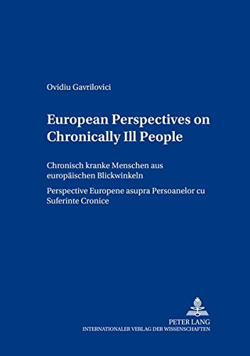 European Perspectives on Chronically Ill People Chronisch kranke: Gavrilovici Ovidiu