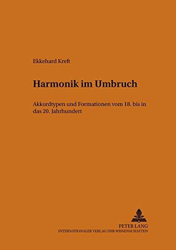 Harmonik im Umbruch: Ekkehard Kreft