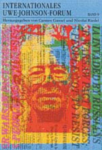 Internationales Uwe-Johnson-Forum. Band 9 (2004): Carsten Gansel