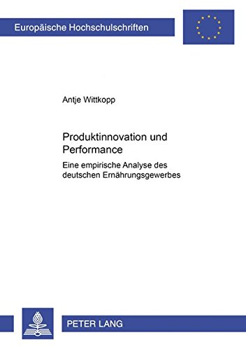 Produktinnovation und Performance: Antje Wittkopp
