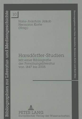 Harsdörffer-Studien: Hans-Joachim Jakob