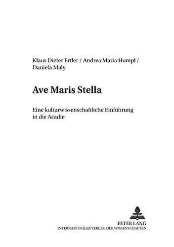 Ave Maris Stella: Klaus Dieter Ertler
