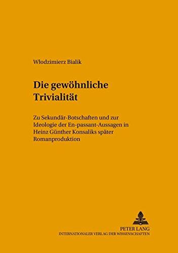 Die gewöhnliche Trivialität: Wlodzimierz Bialik