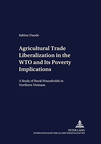 Agricultural Trade Liberalization in the WTO and Its Poverty Impl: Daude Sabine