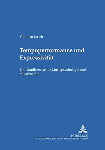 Tempoperformance und Expressivität: Veronika Busch