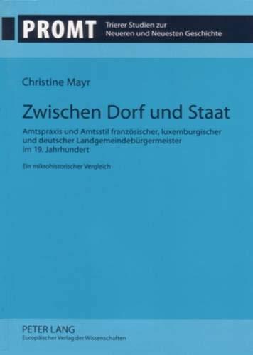 Zwischen Dorf und Staat: Christine Mayr