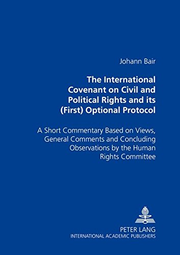The International Covenant on Civil And Political: Johann Bair