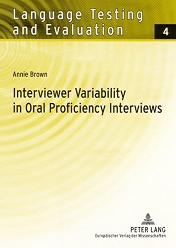 9783631542248: Interviewer Variability in Oral Proficiency Interviews (Language Testing and Evaluation)