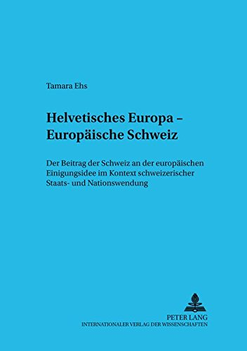 Helvetisches Europa - Europäische Schweiz: Tamara Ehs