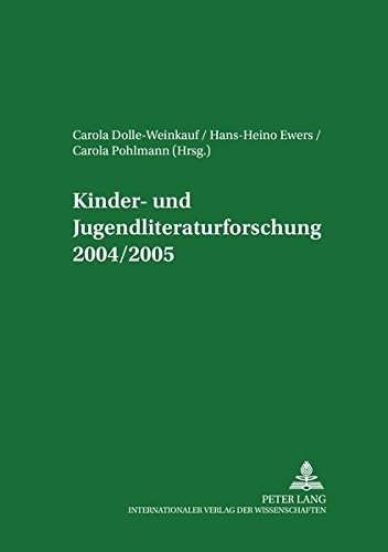 9783631545379: Kinder- und Jugendliteraturforschung 2004/2005: Mit einer Gesamtbibliografie der Veröffentlichungen des Jahres 2004 (Jahrbuch Der Oesterreichischen Byzantinistik)