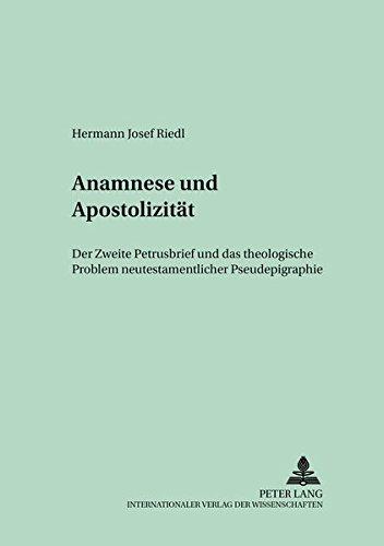 Anamnese und Apostolizität: Hermann Josef Riedl