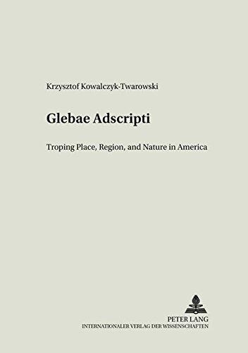 9783631546482: Glebae Adscripti: Troping Place, Region and Nature in America (Literary & Cultural Theory)