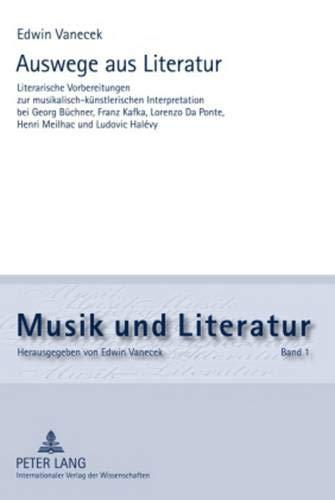 Auswege aus Literatur: Edwin Vanecek