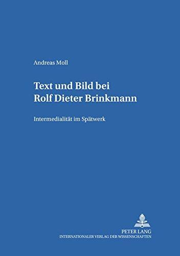 Text und Bild bei Rolf Dieter Brinkmann: Andreas Moll