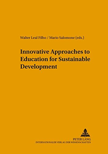 Innovative Approaches to Education for Sustainable Development: Mario Salomone (editor),