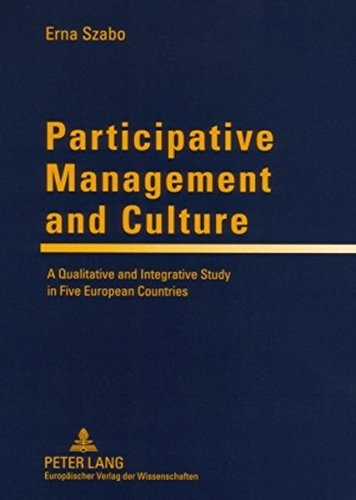 9783631556191: Participative Management and Culture: A Qualitative and Integrative Study in Five European Countries