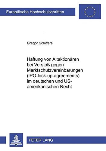 Haftung von Altaktionären bei Verstoß gegen Marktschutzvereinbarungen (...