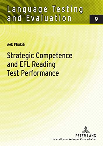9783631559017: Strategic Competence and EFL Reading Test Performance: A Structural Equation Modeling Approach (Language Testing and Evaluation)