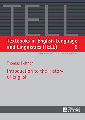 9783631560044: Introduction to the History of English (Textbooks in English Language and Linguistics (TELL))