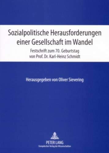 Sozialpolitische Herausforderungen einer Gesellschaft im Wandel: Oliver Sievering
