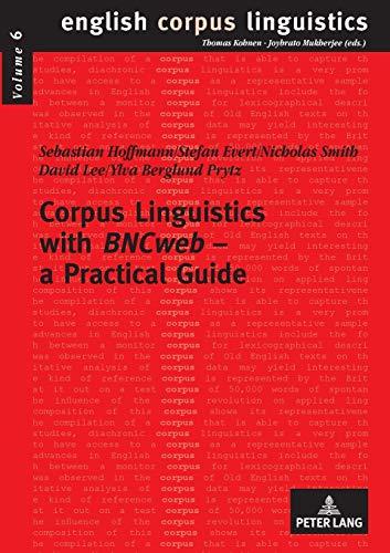 9783631563151: Corpus Linguistics With Bncweb - a Practical Guide: 6