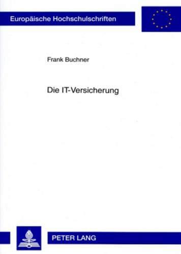 Die IT-Versicherung: Frank Buchner