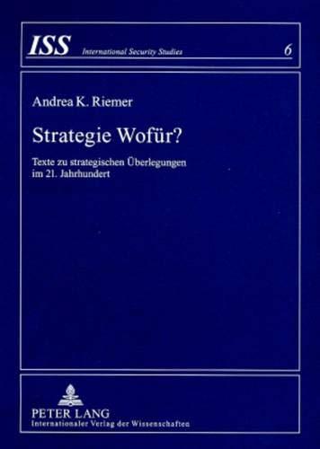 Strategie Wofür?: Andrea K. Riemer