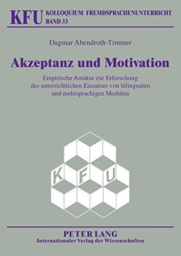 Akzeptanz und Motivation: Dagmar Abendroth-Timmer