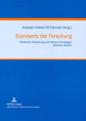 Standards der Forschung: Andreas Frewer