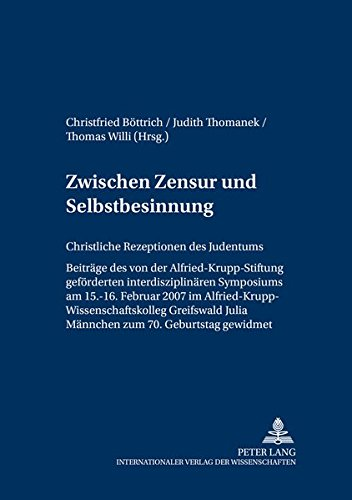 Zwischen Zensur und Selbstbesinnung: Christfried B�ttrich